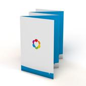 Folders 5-luik zigzag