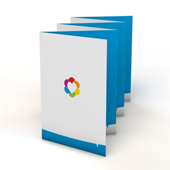 Folders 6-luik zigzag