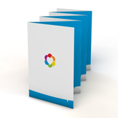 Folders 7-luik zigzag