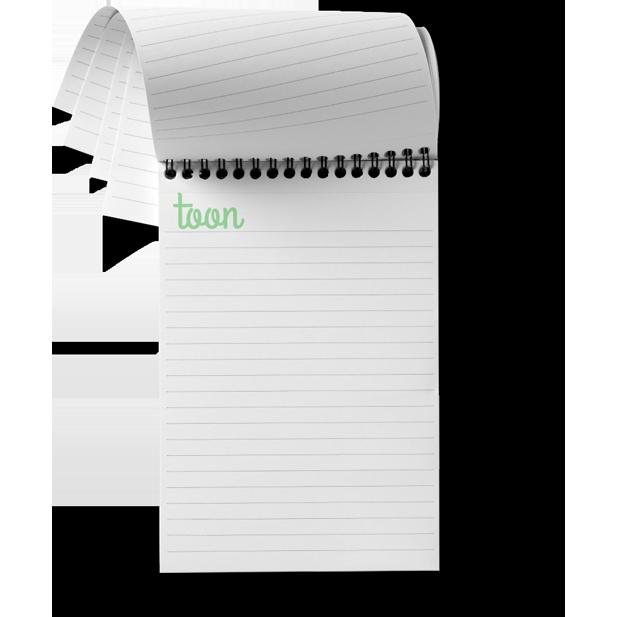 bedrukte notitieblokken